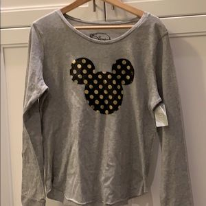Tops - NWT Mickey Mouse top